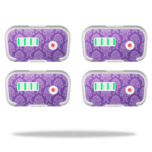MightySkins Protective Vinyl Skin Decal for DJI Phantom 3 Battery Batteries (4 pack)wrap cover sticker skins Antique Purple