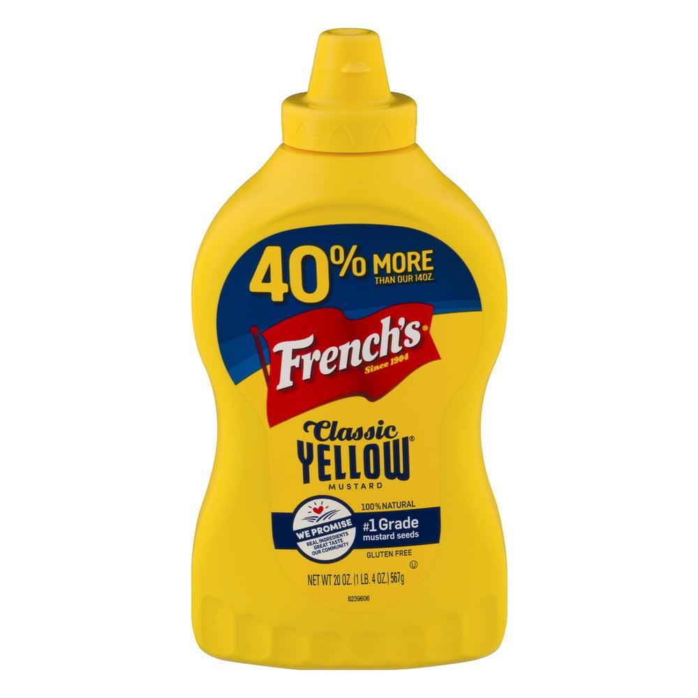 French's Classic Yellow Mustard, 20.0 OZ