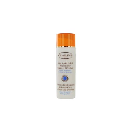 clarins after sun replenishing moisture care for face and decollete, 1.70 ounce