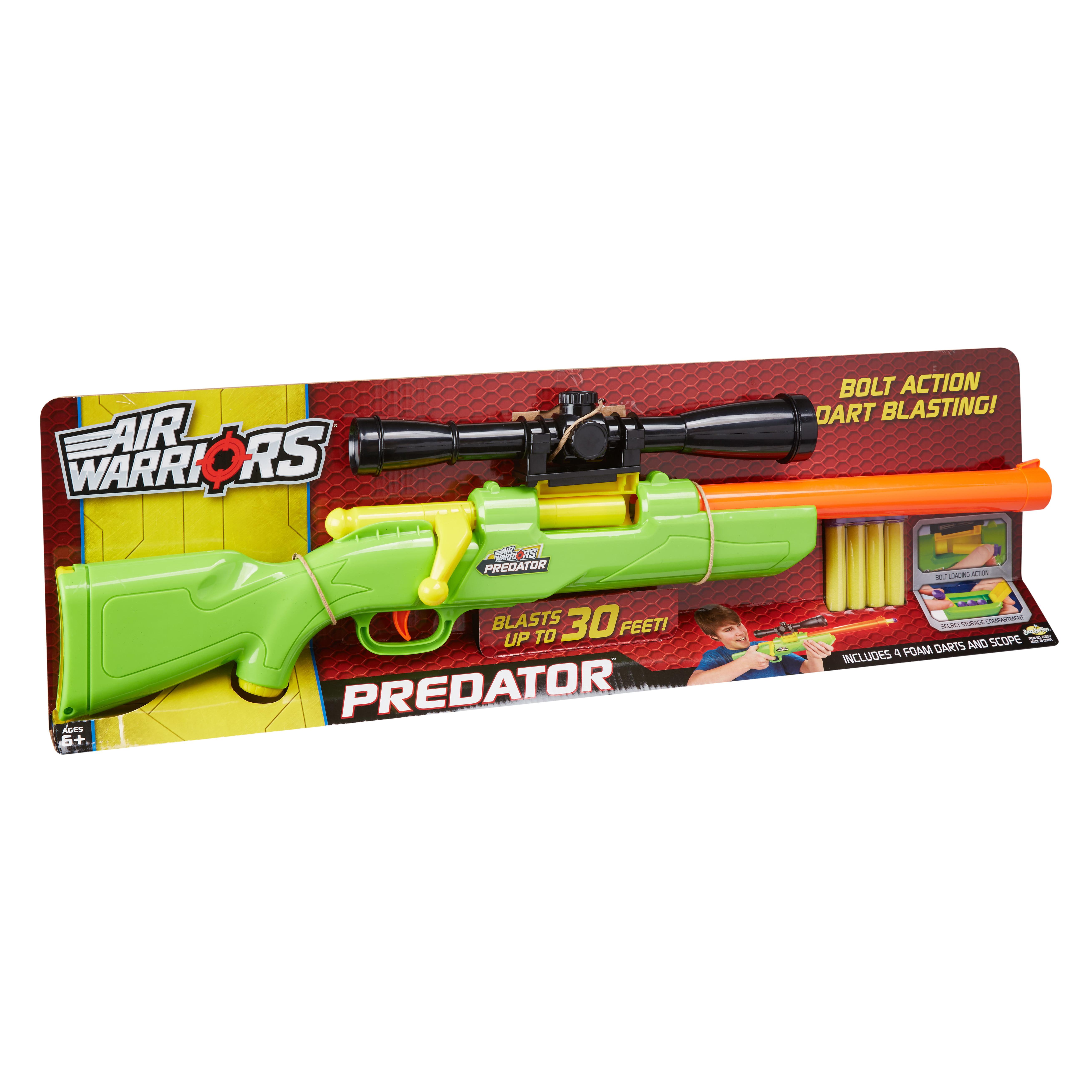 Buzz Bee Toys Air Warriors Predator Blaster Walmart Com Walmart Com