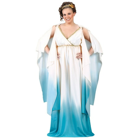 Greek Goddess Adult Plus Halloween Costume, Size: 16W-20W - One (Plus Size Women's Halloween Costumes Cheap)