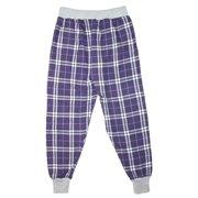 Size Youth Medium Girls Flannel Jogger Pants, Purple