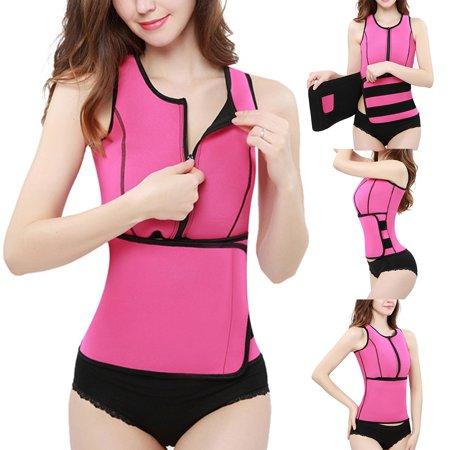 39343ab7a9 Girl12Queen - (Asian Size)Women Neoprene Waist Trainer Corset Vest Slimming  Workout Body Shaper Shapewear By Girl12Queen - Walmart.com