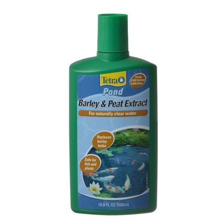 - Tetra Pond Barley & Peat Extract 16.9 oz - Pack of 10