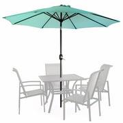 Best 13ft Umbrella Canopies - Barton 9' ft Patio Umbrella Round Sunshade Outdoor Review