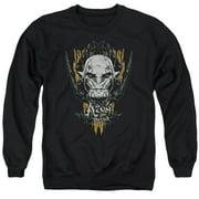 Hobbit Azog Mens Crewneck Sweatshirt