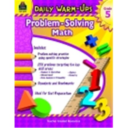 Teacher Created Resources Daily Warm Ups Word Problems Book, Grade 5 (Daily Warm Ups)