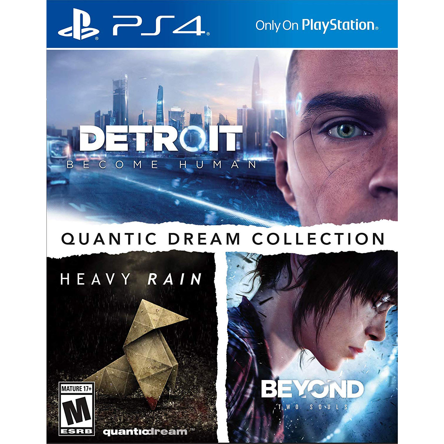 Quantic Dream Collection, Sony, PlayStation 4, 711719526575