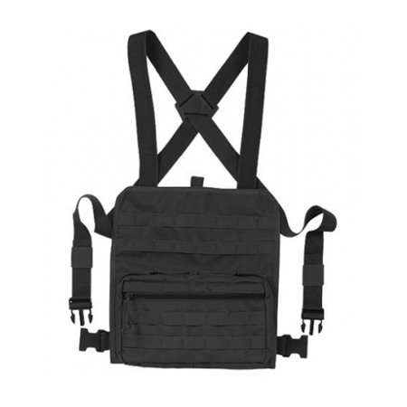 Voodoo Tactical Admin Chest Rig, Black -