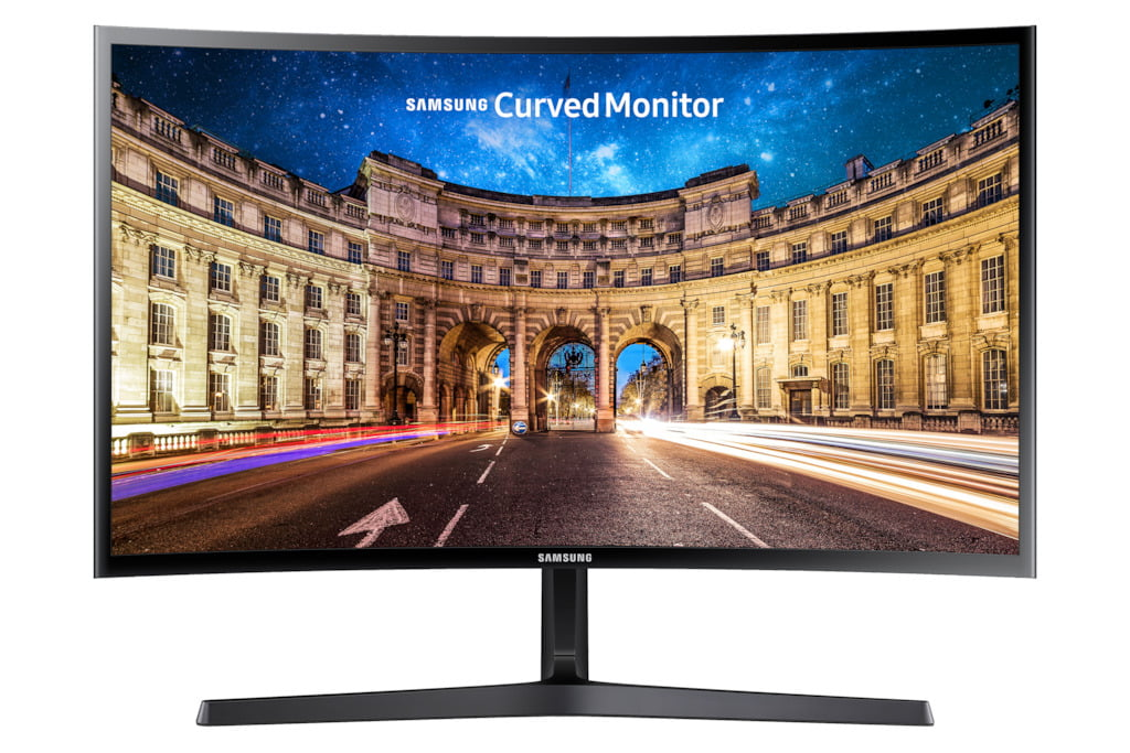 """SAMSUNG 27"""" Class CF398 Curved (1920 x 1080) LED Monitor - LC27F398FWNXZA"""