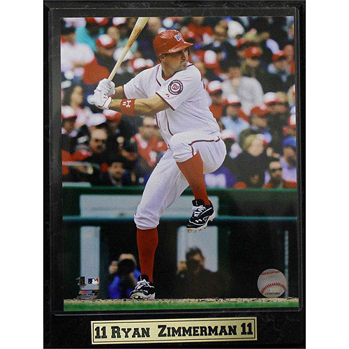 MLB Ryan Zimmerman Photo Plaque, 9x12