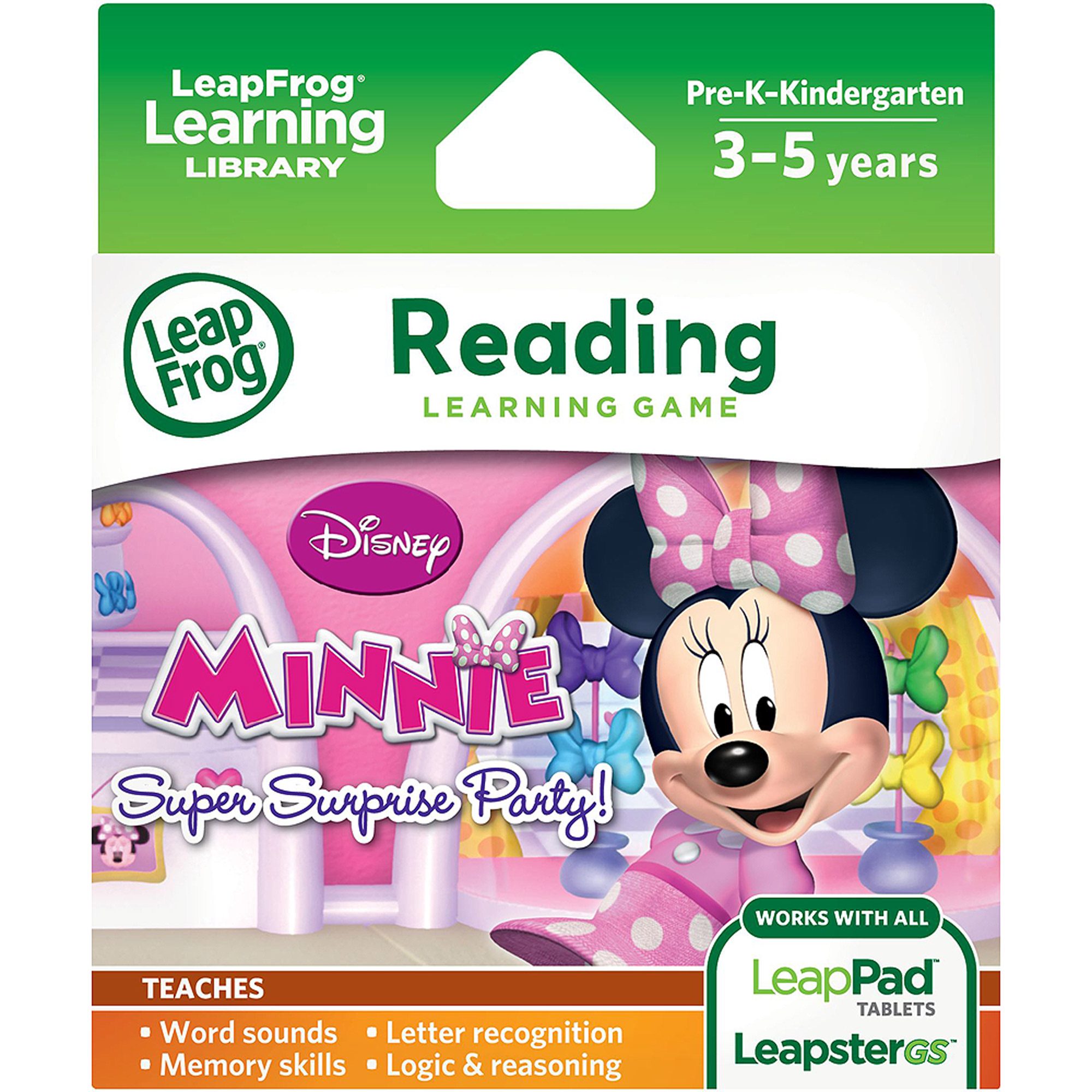LeapFrog Explorer Disney Minnie's Bow-tique Super Surprise Party Learning Game