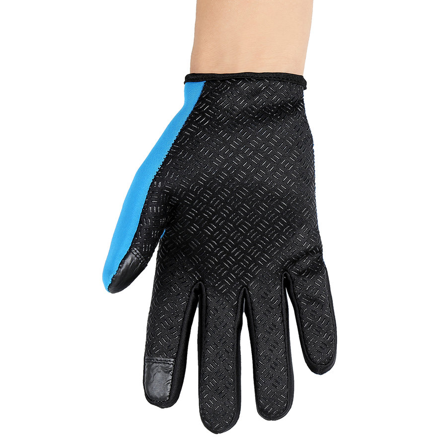 Women Men Motorcycling Touchscreen Winter Outdoor Riding Waterproof Gloves by konxa