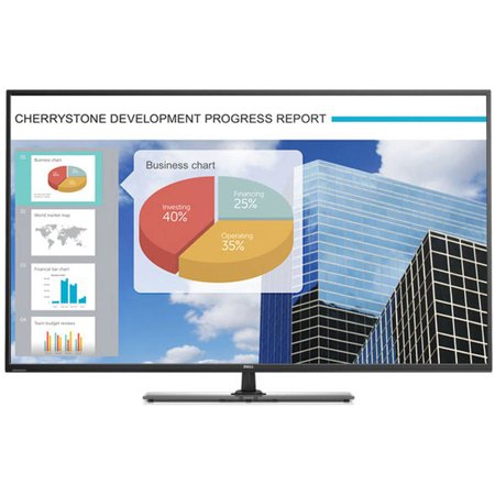 """Dell 55"""" Widescreen LED LCD Monitor (E5515H Black) by"""
