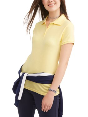 Wonder Nation Juniors' Uniform Short Sleeve Polo