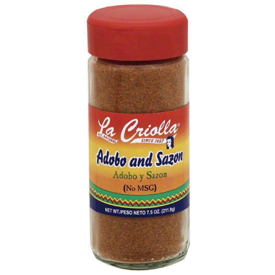 La Criolla Adobo and Sazon, 7.5 oz, (Pack of 12)
