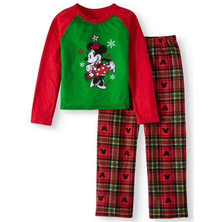 Minnie Mouse Holiday Family Sleep Pajamas, 2-piece Set (Little Girls & Big Girls)