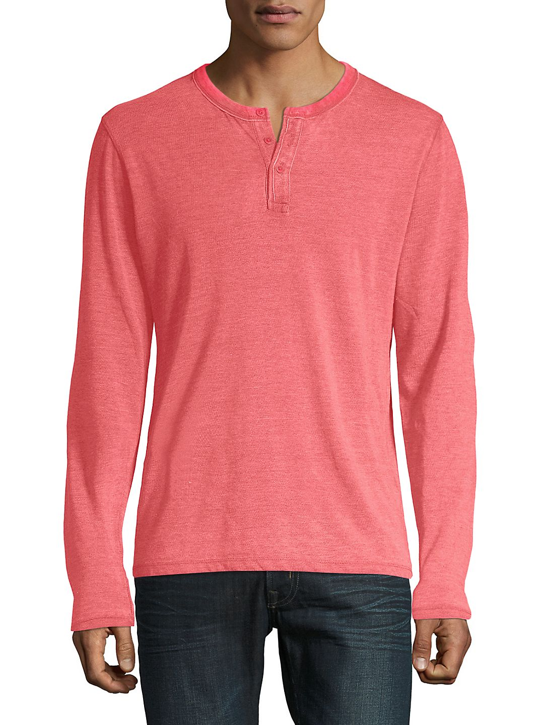 Sueded Burnout Pullover