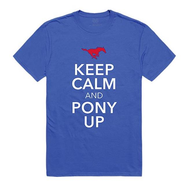 W Republic Apparel 523-150-B02-05 Southern Met Keep Calm Mens Tee, Royal - 2XL - image 1 of 1