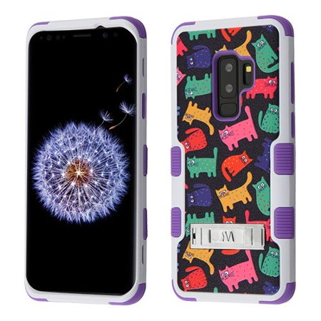 For Samsung Galaxy S9 Plus TUFF Hybrid Phone Protector Case Cover (with Stand)