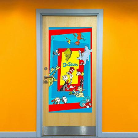 Dr. Seuss Plastic Door Poster (1ct)](Dr Seuss Poster)