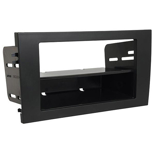 Scosche AU2391B - 2002-up Audi A4 Double Din/DIN with Pocket
