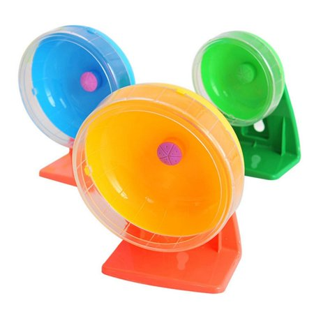 Small Pet Toys Hamster Sports Mute Running Wheel, Random Color Delivery, M, Size: Diameter