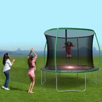 Sportspower BouncePro 10Ft Trampoline and Steelflex Pro Enclosure