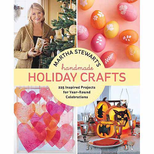 Potter Craft Books, Martha Stewart Handmade Holiday Crafts