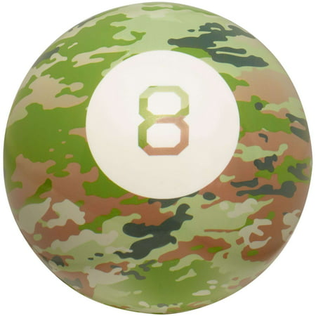 Magic 8 Ball Classic Fortune-Telling Novelty Toy with Camouflage Design