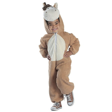 Princess Paradise Premium Corduroy Horse Toddler Costume - Homemade Halloween Costumes For Horses