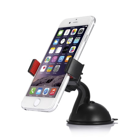 360 Degree Windshield Dashboard Cellphone Holder Suction Car Mount Bracket for iphone Samsung GPS Cellphone