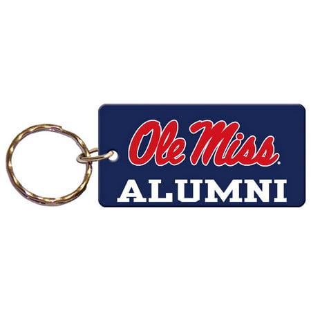 Ole Miss Rebels Acrylic Alumni Keychain - No Size