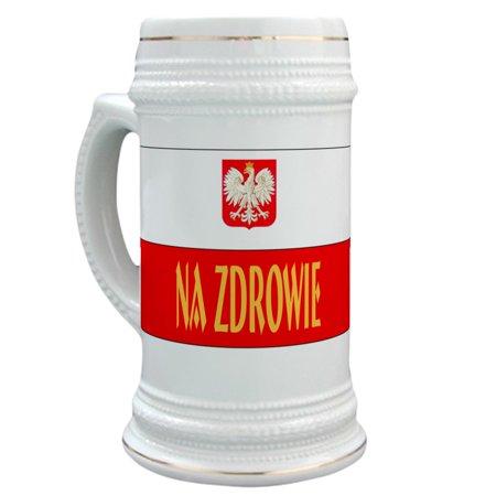CafePress - Polish Beer - Beer Stein