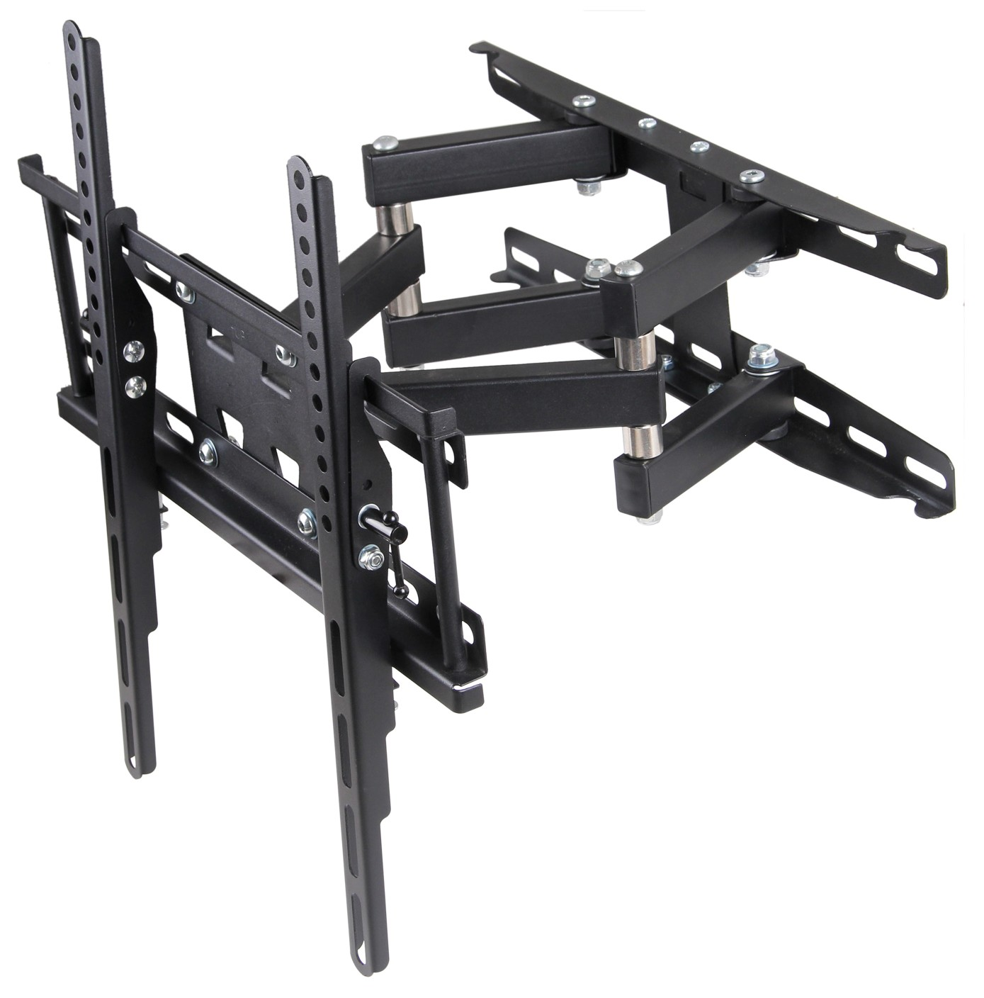 "Husky Mount Full Motion TV Wall Mount - Fits most LED LCD HDTVs 32"" - 55"" up to 66 lb"