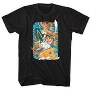 Street Fighter Video Martial Arts Arcade Game Dragon Chun Li Adult T-Shirt Tee
