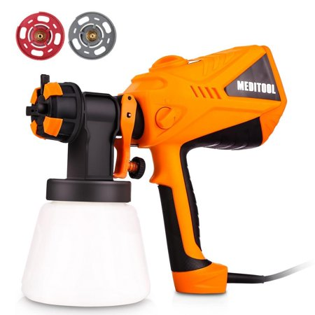 600W Electric Paint Spray Gun Outdoor Fence Painting Tool Home US