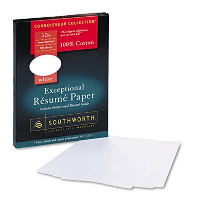 Southworth RD18CF 100% Cotton R sum Paper 32 lbs 8 1 2