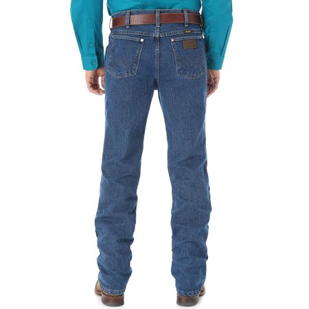 1dee5b0c Wrangler - Wrangler Men's Cool Vantage Cowboy Cut 36 Slim Fit Jeans -  36Mcvds - Walmart.com