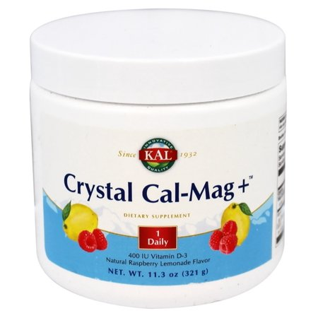 - Kal - Crystal Cal-Mag+ Natural Raspberry Lemonade - 11.3 oz.