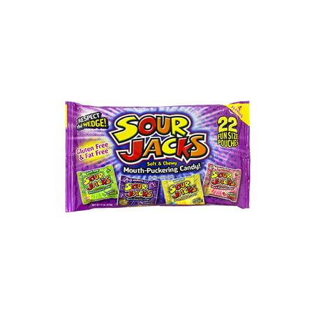 Sour Jacks Variety Bag, 22 Count, 4 Pack - Sour Jacks