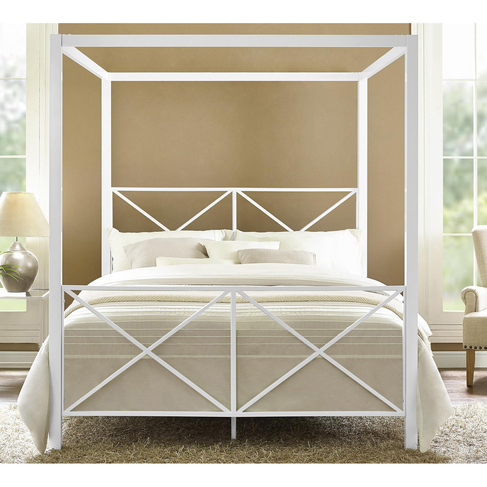 Trend Canopy Bed Frame Plans Free