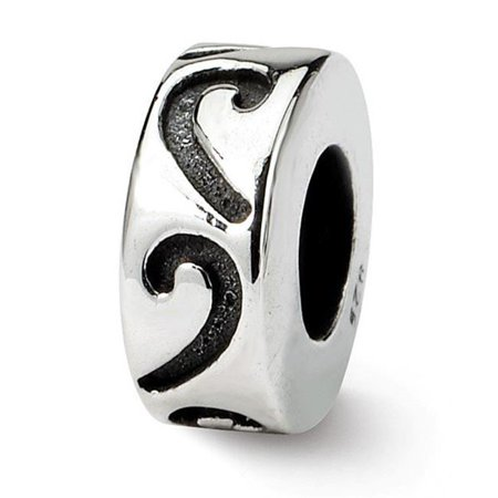 Reflection Beads QRS1401 Sterling Silver Stopper & Spacer Bead - image 1 de 1