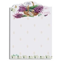 Lissom Design 28057 Sticky Notepad - Lavender Allure