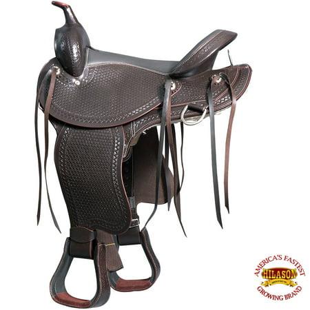 Leather Jumping Saddle - M1-16