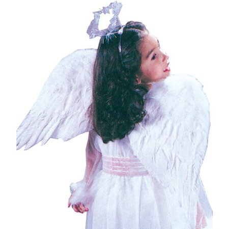 Child Feather Angel Wings (Fun And Easy Halloween Costume Ideas)
