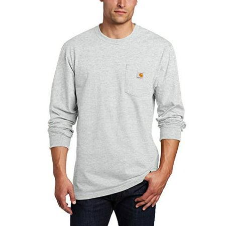 5d49ed9498 Carhartt - Carhartt Men s Workwear Pocket Long Sleeve T-Shirt Midweight  Jersey Original Fit K126