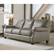 Lazzaro Carlyle Leather Sofa in Adobe
