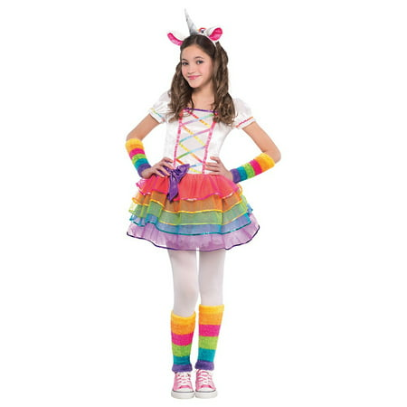 Rainbow Unicorn Child Costume - Small - Rainbow Fairy Costumes