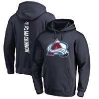 Nathan MacKinnon Colorado Avalanche Fanatics Branded Backer Name & Number Pullover Hoodie - Navy